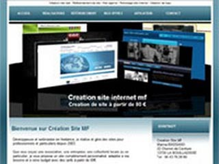 Creation site internet mf : vitrine, boutique, e-commerce