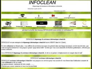 Infoclean, assistance et depannage informatique