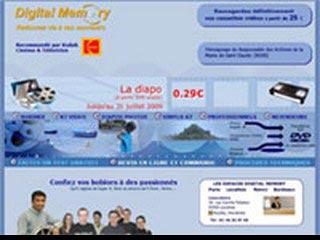 Digital Memory : transfert vidéo super 8 sur DVD