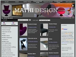 Mathi Design : Mobilier design à prix abordable