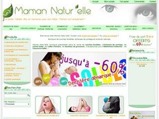Maman Natur'elle, produits naturels pour mamans et bébés