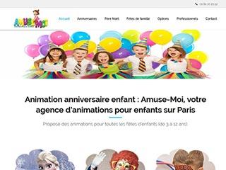 Amuse-Moi, spécialiste de l'animation enfants en IDF