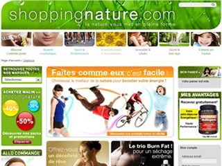 Shopping Nature : compléments alimentaires