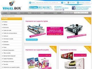 Visuel box, votre imprimeur numérique en ligne