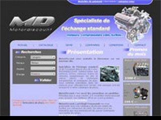 Motordiscount, vente et échange standard de moteurs