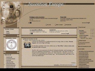 Invention Europe, le portail des inventeurs