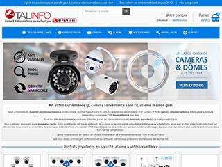 Camera de surveillance exterieure sans fil