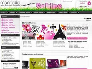 Mandellia : Stickers muraux, tableau, poster et cadeaux