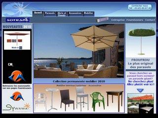 Sotrapa, mobilier de jardin et parasols