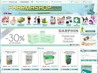 Pharmashop discount, parapharmacie en ligne