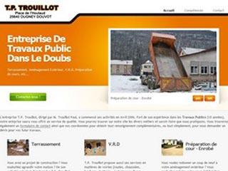 TP trouillot, travaux publics dans le Doubs