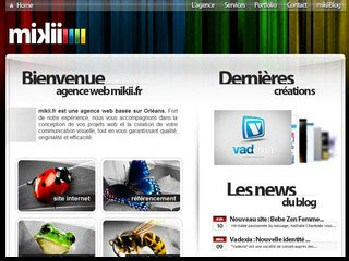 Agence web Mikii, création de site internet