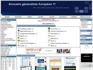 Annuaire généraliste Européen gratuit