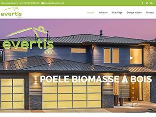 Le spécialiste de l'énergie verte sur www.evertis.net