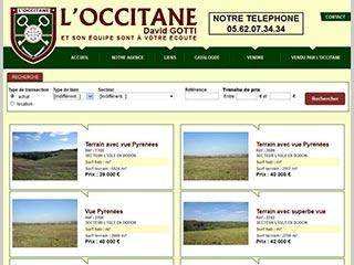 L'Occitane, agence Immobilière dans le Gers