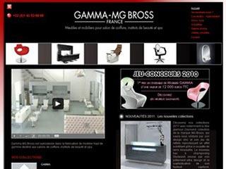 Gamma Bross, spécialiste du mobilier salon de coiffure