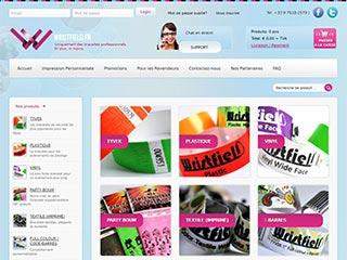Bracelet Plastique personnalisable pas cher