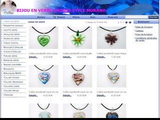 Od'line Bijoux, bijoux en verre style Murano