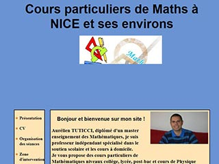 Cours particuliers de Mathématiques dans le 06