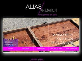 Alias Animation animation location jeux géants