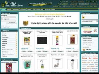 Articles Quincaillerie : Articles de droguerie, bricolage et jardinage