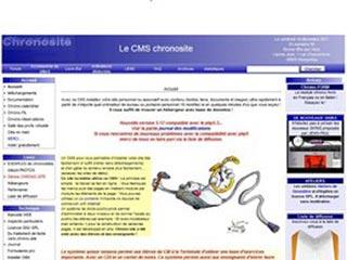 Chronosite, un petit CMS scolaire et associatif
