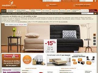 Meubles.com, site du meuble contemporain en ligne