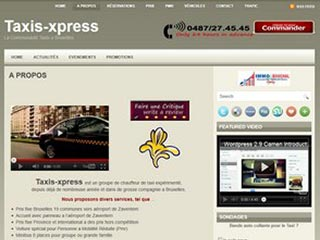 Taxis Express Bruxelles, airport national et international