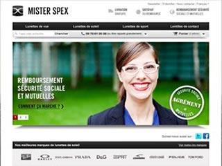 Mister Spex, achetez vos lunettes en ligne