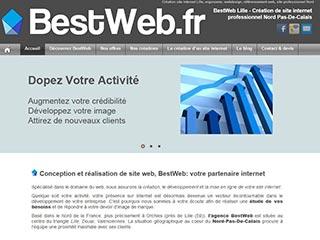 BestWeb, création de sites internet et référencement à Lille
