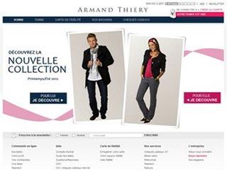 Armand Thiery, prêt à porter masculin et feminin