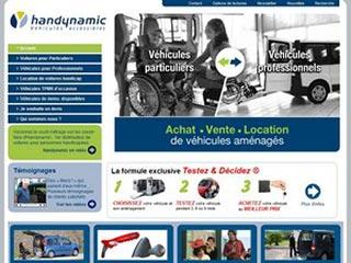 Handynamic, voitures pour personnes handicapées