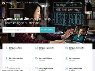 Preply - Trouvez un prof particulier de langue pour des cours sur Skype