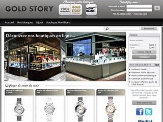 Gold Story - Bijouterie en ligne, bijoux de marque et fantaisie