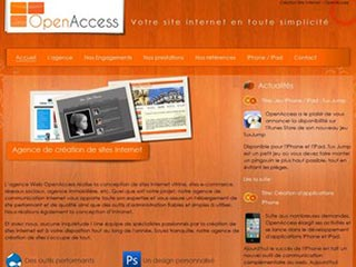 OpenAccess : création de sites internet