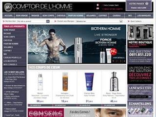 Comptoir de l'Homme, soins et parfums pour hommes