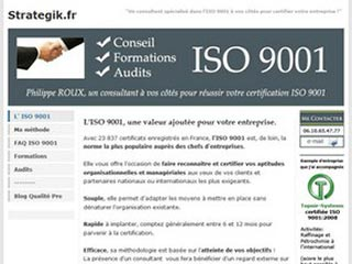 ISO 9001: Conseil, Formations, Audits