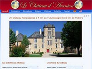 Château d'Avanton : Locations vacances