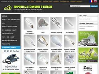 Lampesecoenergie, ampoules à économie d'énergie
