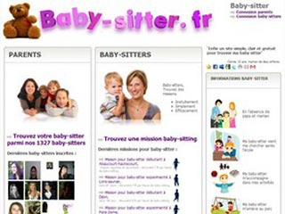 Baby-Sitter, mise en relation parents et baby sitters