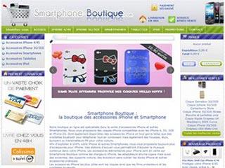 Smartphone-boutique, la e-boutique d'accessoires iPhone