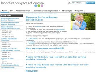 Incontinence-protection, la solution pour l'incontinence