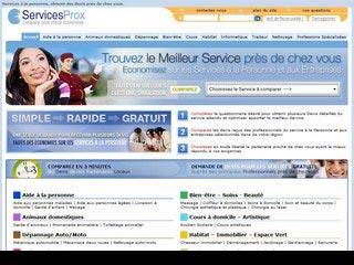 Servicesprox, devis pour les services à la personne