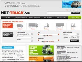 Net-Truck, annonces vente et achat de camions