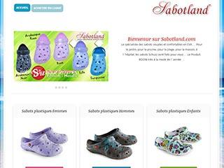 Sabotland, sabots plastiques pas cher