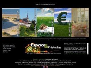 Immobilier le Touquet, agence Espace et Patrimoine