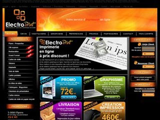 Electroprint, impression en ligne de tous documents