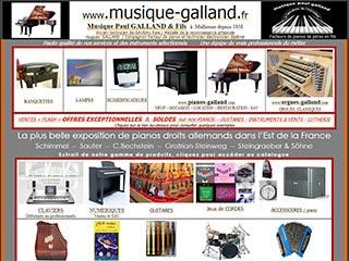 Musique Paul GALLAND & FILS ventes d'instruments de musique