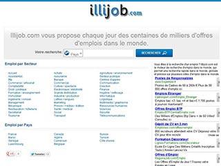 Illijob, espace web pour trouver et déposer vos annonces d'emploi et stage