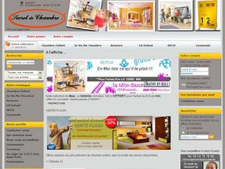 Secret de chambre, chambre enfant et mobilier enfant